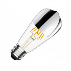 Ampoule LED ST64 E27 Dimmable Filament Reflect - ledpourlespros.fr