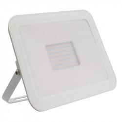 Projecteur led extra-plat Crystal blanc 100W
