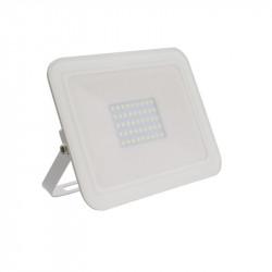 Projecteur led extra-plat Crystal blanc 30W