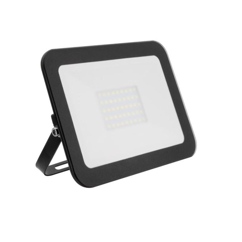 Projecteur led extra-plat Crystal noir 30W