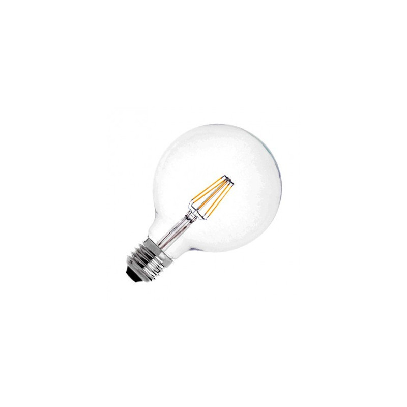 Ampoule LED E27 Variable Filament Suprême G125 6W
