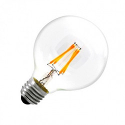 Ampoule LED E27 Dimmlable Filament Globe G80 6W