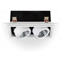 Projecteur LED Orientable COB 60W 3000K
